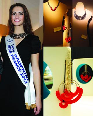 mademoiselle felee Paris bijoux tour eiffel miss france 2012 artcurial etincelle Boci Franceclat
